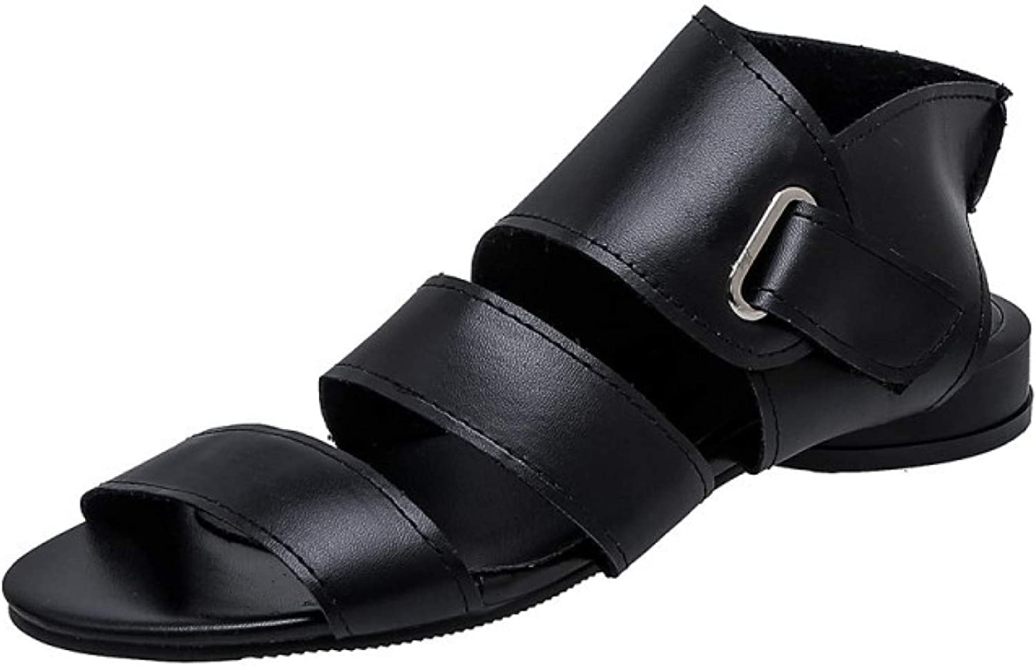 Women's Sandals Comfort Adjustable Beauty products Hook OFFicial mail order Loop Buckle and Ankle St