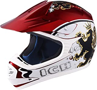 AHR DOT Motocross Helmet Full Face Offroad Dirt Bike...