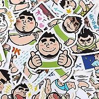 40本/パック男の子おじさんステッカーかわいい装飾セットキャラクター素材愛INSハンドBookBookツール防水ステッカー