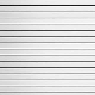 Garage Slatwall PVC White Panels 12