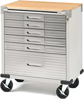 seville classics 6 drawer rolling cabinet