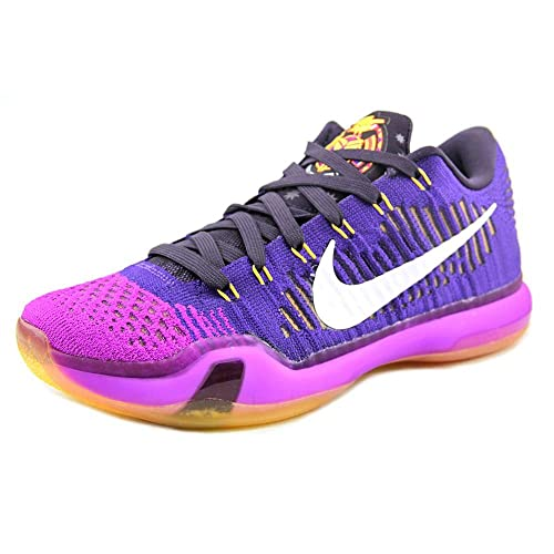 sale retailer a9c18 75c0b NIKE Men s Kobe X Elite Low, Mambacurial-Black Black-Wolf Grey-