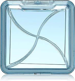 HLYT-0909 Boîte de Rangement Boîte à Petite Pilule, Grande capacité, Transparent et Portable, boîte de Pilule de Distribut...