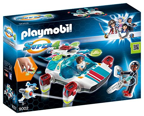 Playmobil Super 4 - FulguriX com Agente Gene - 9002