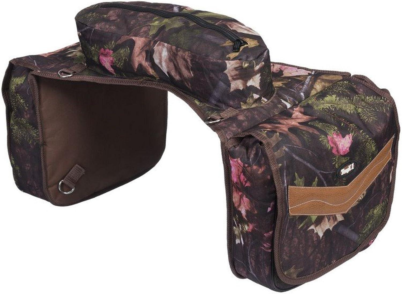 Tough1 Saddle Bag Insulated Padded Zipper Real Camo 617795