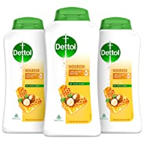 [Pantry] Dettol Body Wash and Shower Gel, Nourish – 250ml Each (Buy 2 Get 1 Free)