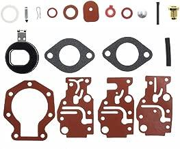 Best johnson 15 hp carburetor rebuild Reviews