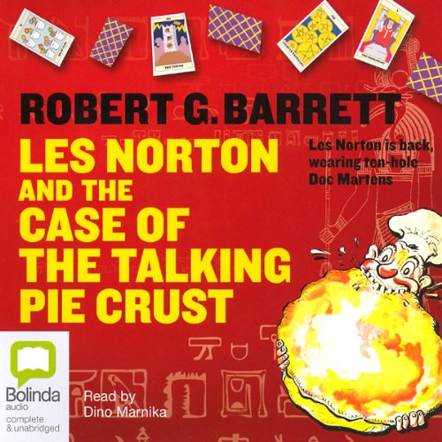 Les Norton and the Case of the Talking Pie Crust audiobook cover art
