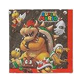 Super Mario Bros. Luncheon Napkins [16 per Package]