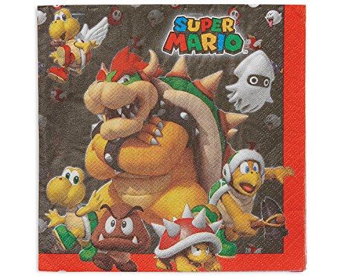 amscan Super Mario Party-Reihe Super Mario Party-Reihe Mehrfarbig