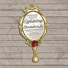 mirror wedding invitations