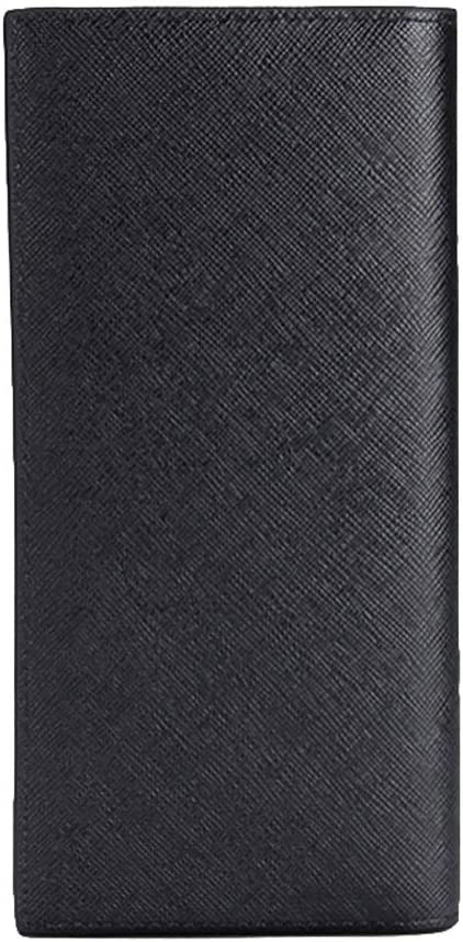 kannore Max 90% Genuine OFF Men's Leather Wallet Slim Ultra-Thin Large C Long