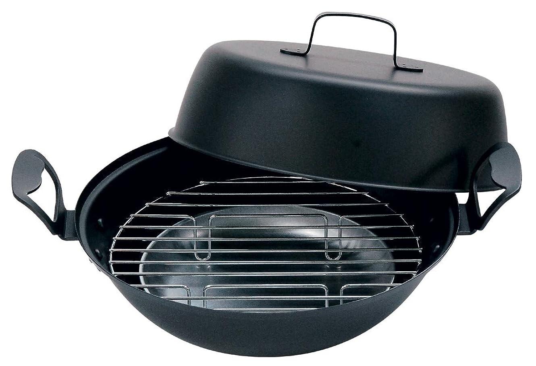 ジャングル愛素朴なベルモント(Belmont) H-027 鉄製燻製鍋27cm