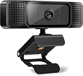 Webcam with Microphone,AuKing Web Camera 1080P Full HD USB Computer Camera,Laptop Desktop PC Camera 110 Degree Widescreen ...