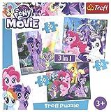 Puzzle 3w1 My Little Pony Magia przyjazni