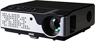 """Devanti Video Projectors 4000 Lumens WIFI 250"""" Projection Size 1080P Full HD Screencast Home Cinema Movies Video Game Outd..."""