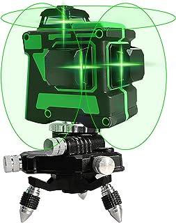 ECVV Laser level 12 Lines Green Light Professional Cross Marking Meter Self-leveling Horizontal Vertical Laser Ruler Spiri...