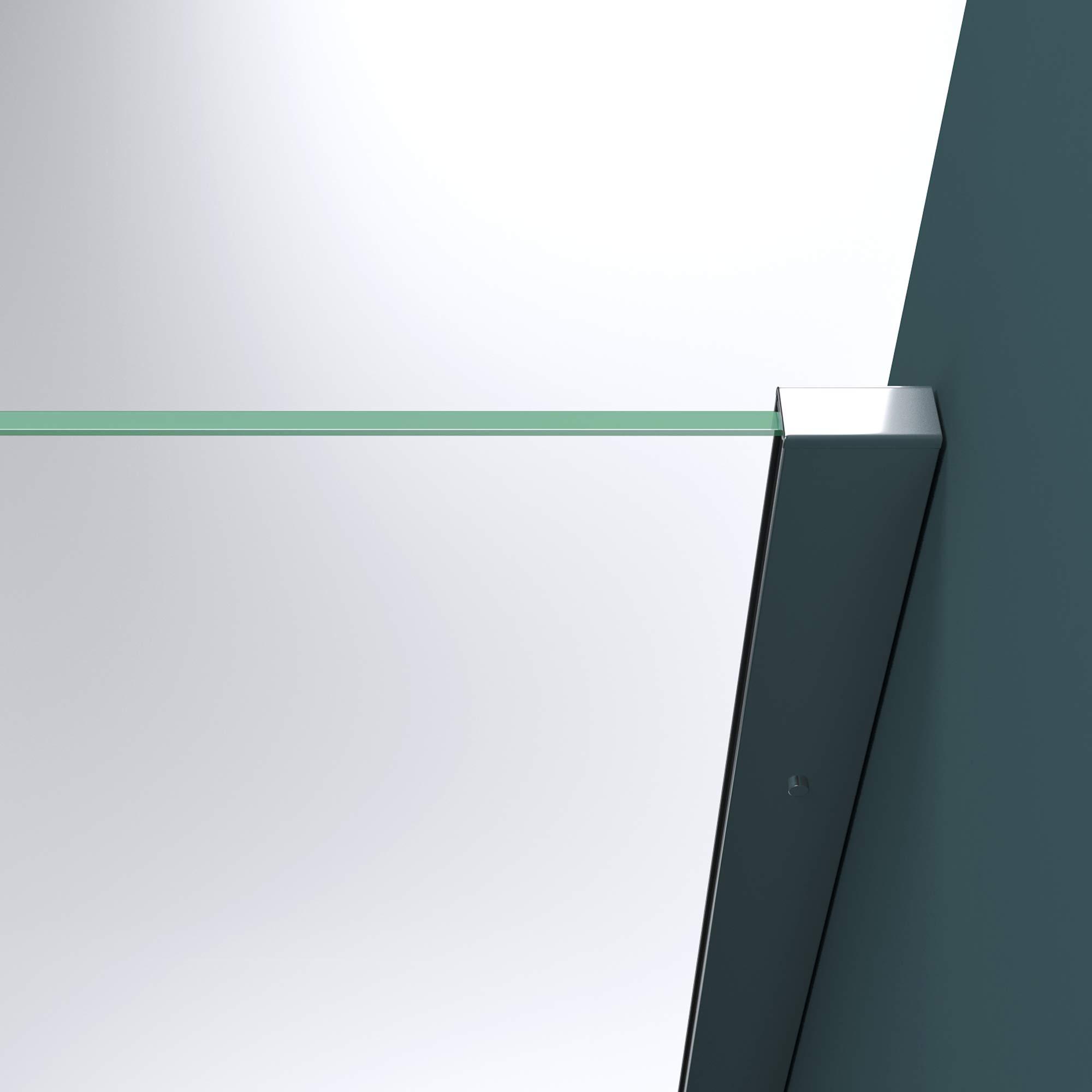 Mampara de ducha fija Bremen2MS, 10 mm de vidrio templado con ...