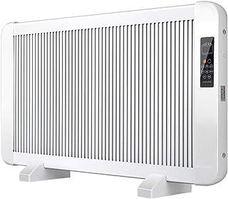 Radiador eléctrico MAHZONG Radiador de convección, Ecodiseñado - Temporizador de 24 Horas - Panel Plano ultradelgado - Termostato Digital - Montaje en Pared - Calentador eléctrico de bajo Consumo, B