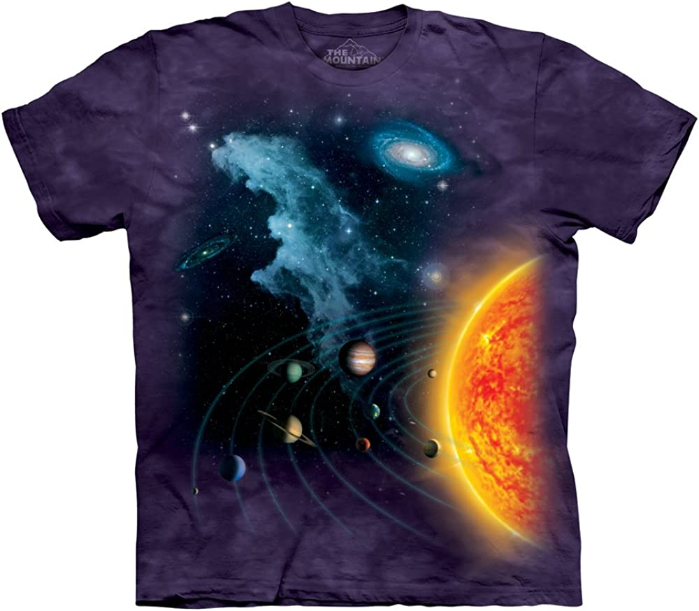 The Mountain Mens Solar System T-shirt