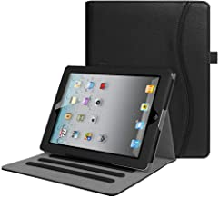 Fintie Case for iPad 2 3 4 (Old Model) - [Corner Protection] Multi-Angle Viewing Folio Smart Stand Cover with Pocket, Auto Sleep/Wake for iPad 2, iPad 3 & iPad 4th Gen with Retina Display, Black