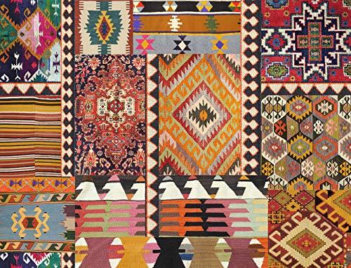 Vilber Bohemian Kilim 2495 Alfombra, Vinilo, Multicolor, 153x200x0.2cm