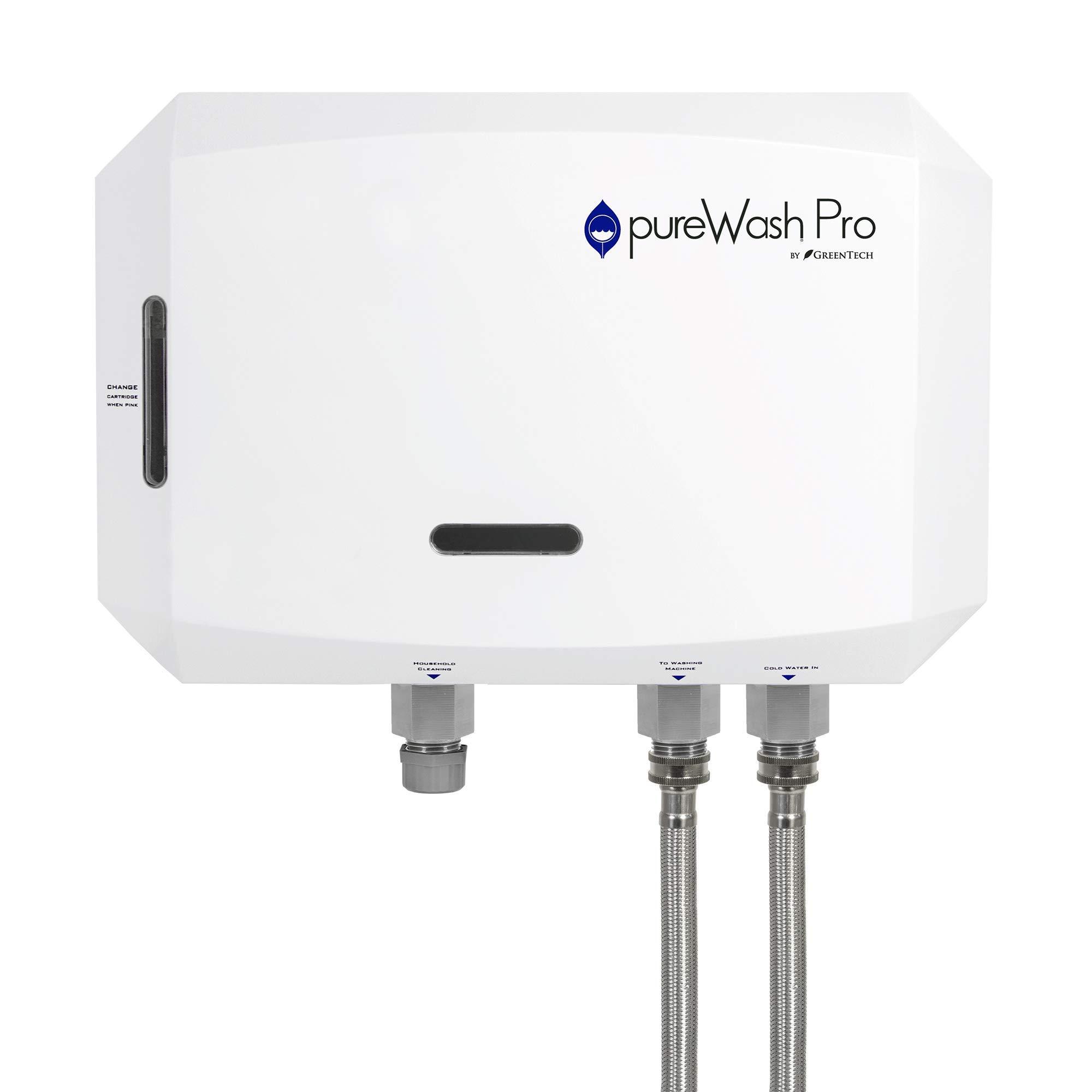 pureWash Pro X2 Detergent Less Laundry System