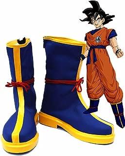 ドラゴンボールアニメMonkey King Son Goku Kakarotコスプレ靴ブーツカスタムMade