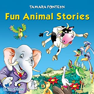 Fun Animal Stories for Children 4-8 Years Old audiobook cover art