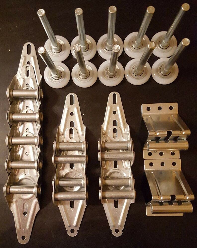 Garage Door Hardware Kit - Light Sale SALE% OFF Rollers 9x7 8x7 Duty or Hi Max 47% OFF