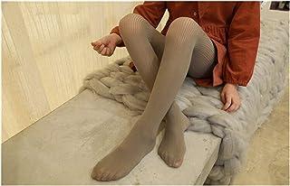 LUOSI, LUOSI Calcetín, Verano y otoño Nuevo sólido Color de la Malla Fina Coreana niñas Panti elástico Niños Niños Medias Medias niña (Color : Gray, Size : 4 6T)