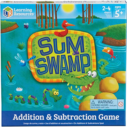 Learning Resources Sum Swamp Kid's Early Math Skills Game $9.49 + Free Shipping w/ Prime or on $25+