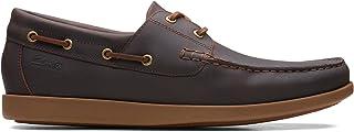 Clarks Ferius Coast, Chaussures de Bateau. Homme