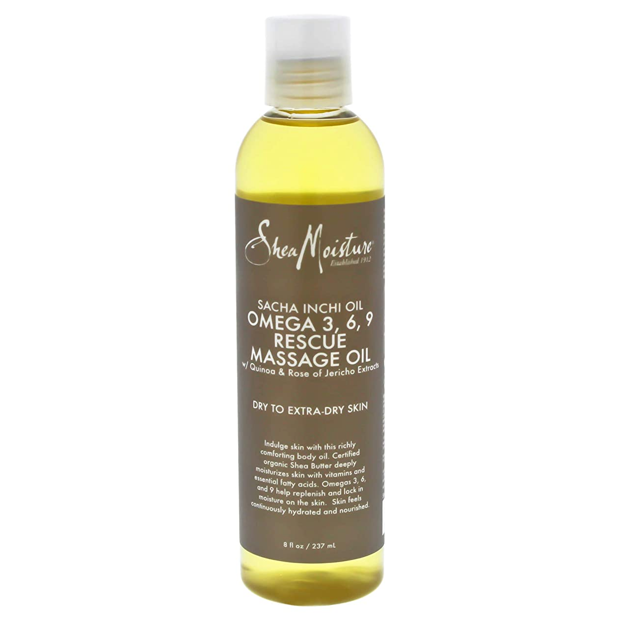 パッケージ新着食品Sacha Inchi Oil Omega-3-6-9 Rescue Massage Oil