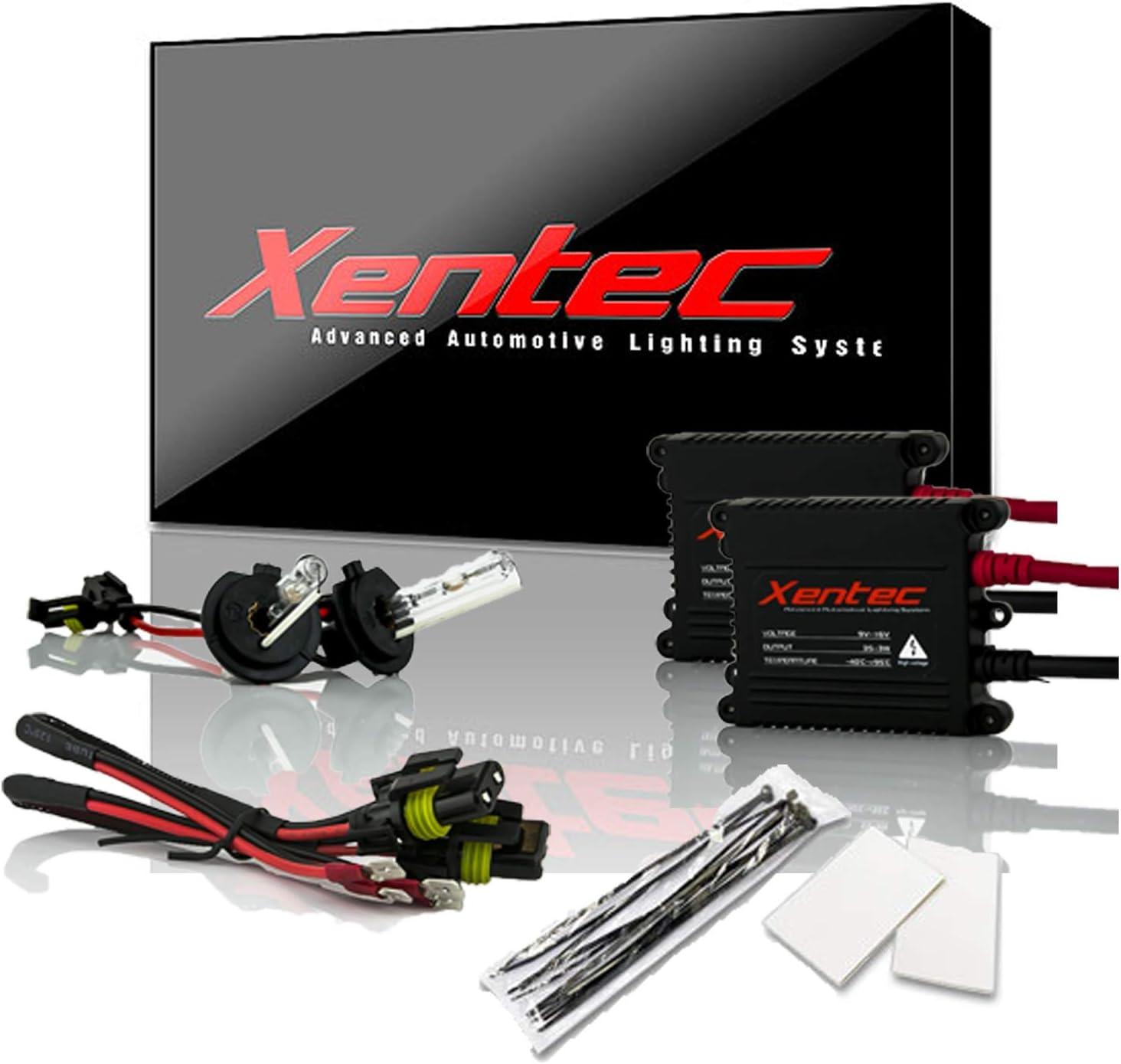 XENTEC LED HID Headlight kit H7 White for Dodge Sprinter 3500 2003-2009