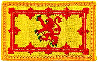 Wappen Aufn/äher Patch Schottland Royal Flagge Fahne FLAGGENMAE/®