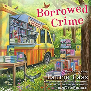 Borrowed Crime     Bookmobile Cat Mystery Series, Book 3              By:                                                                                                                                 Laurie Cass                               Narrated by:                                                                                                                                 Erin Bennett                      Length: 9 hrs and 37 mins     94 ratings     Overall 4.6