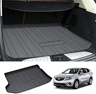 Powerty Trunk Mat All Weather TPO Rear Cargo Liner for Buick Envision 2016 2017 2018 2019 2020