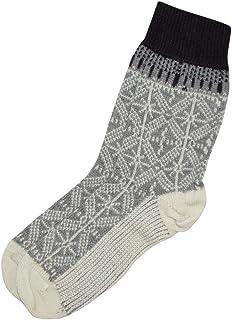 HIRSCH, Natural, calcetines con solapa, 100% lana (kbT)
