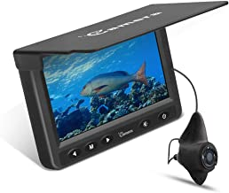 Moocor Underwater Fishing Camera, Portable Fish Finder Camera HD 1000 TVL Infrared LED..