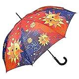 VON LILIENFELD® Ombrello Pioggia Rosina Wachtmeister: Sole Lungo Classico Automatico Donn...