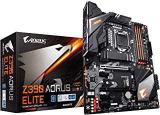 Gigabyte Z390 Aorus Elite - Placa Base (DDR4-SDRAM, DiMM, 2133,2400,2666 MHz, Dual, 16GB, 64 GB), Negro