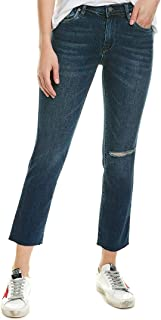 Blank NYC Women's The Madison Crop High-Rise Crop Jeans in Bayou Blues