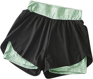 Vrouwen Hoge Taille Stretchy Yoga Kleur Elastische Sport Broek Shorts Fitness Zachte Ondoorzichtige Buikcontrole Workout G...