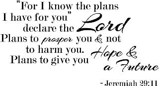 Newclew for I Know The Plans I Have for You, تُصدر خطوطًا لبروسبر لا تؤذيك، يخطط أن يعطيك لك هوب ومستقبل.- Jeremiah 29: 11...
