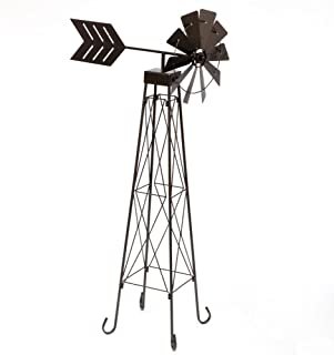 Bits and Pieces - 4' Windmill Wind Spinner - 48