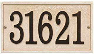 wall mounted house number plaques