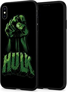 iPhone Xr Case, Hero Series Protection Cover Back Case for Apple iPhone Xr (Angry-Hulk)