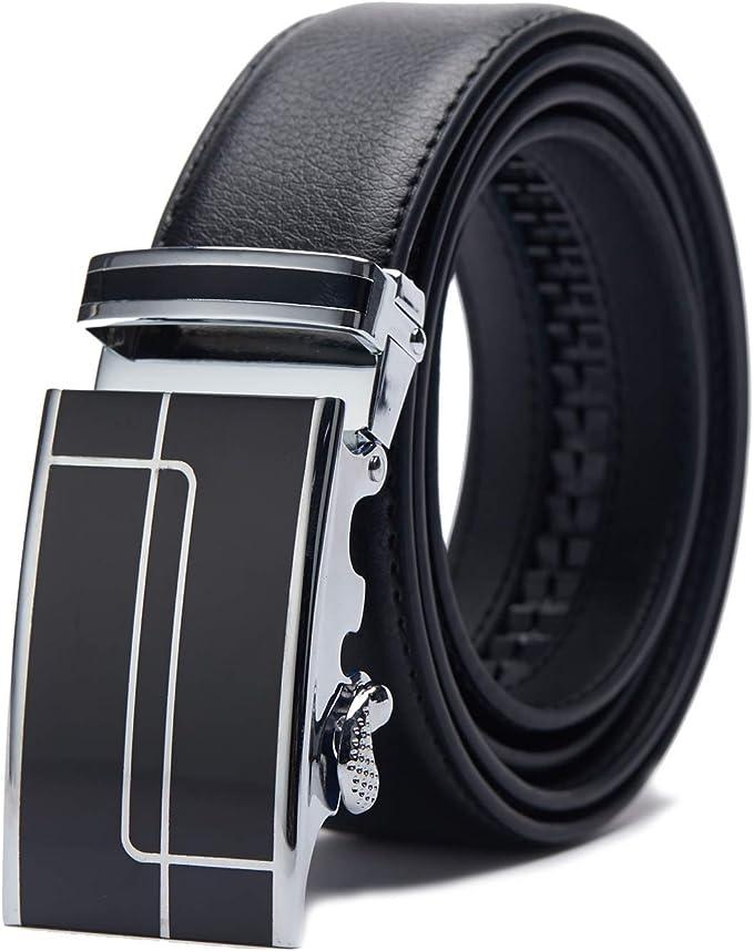 3278 opinioni per TANGCHAO Cintura Uomo, Cintura a Cricchetto da Uomo in Pelle con Fibbia