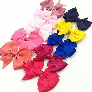 30-Piece Baby Girls Ribbon Set Multicolour 4.5inch